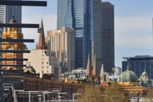 Melbourne from South Bank